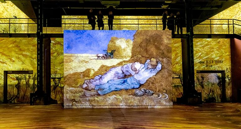 Van Gogh at the Atelier des Lumières; an illuminating experience