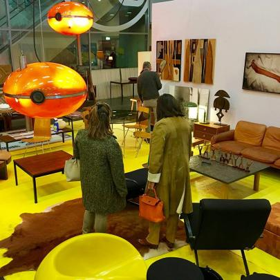 Les Puces du Design; for vintage and contemporary design enthusiasts