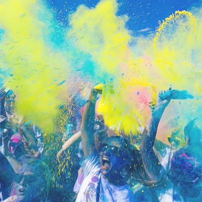 The Paris Colour Run; on your marks, get set, GO!