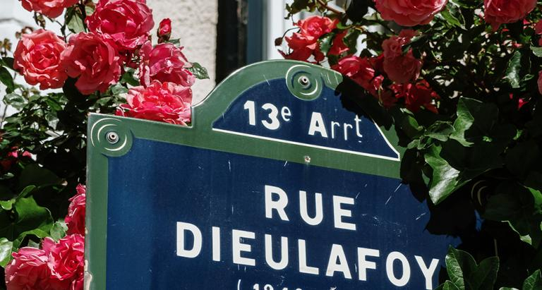 A different side of Paris; the Village des Peupliers